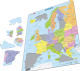 Map of Europe - Frame/Board Jigsaw Puzzle 29cm x 37cm (LRS  A8-GB)